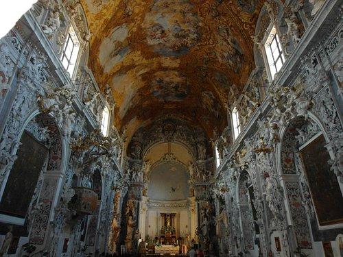 Meraviglioso Spettocolare Interno Chiesa S. Francesco Mazara del Vallo TP