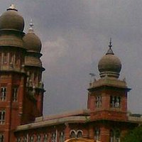 A Madras high court building