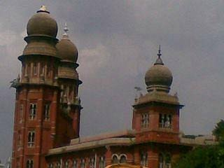 A Madras high court building