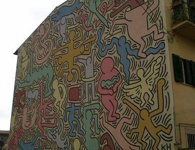il murale di Keith Haring