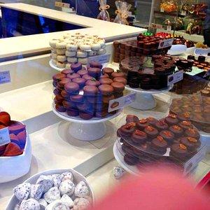 Delicious Leonidas Chocolates