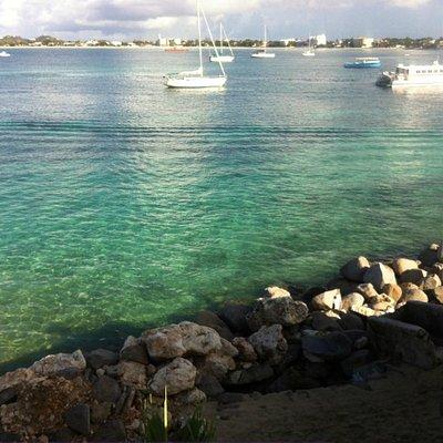 View from Platform at Simpson Bay Resort and Marina - (Marina Pool)