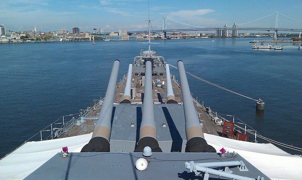 New Jersey's big guns.