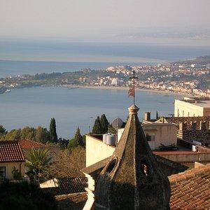 Taormina and Bay of Naxos