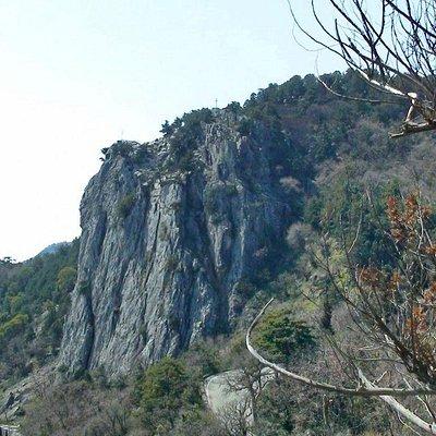 Гора Крестовая. Вид с Царской тропы