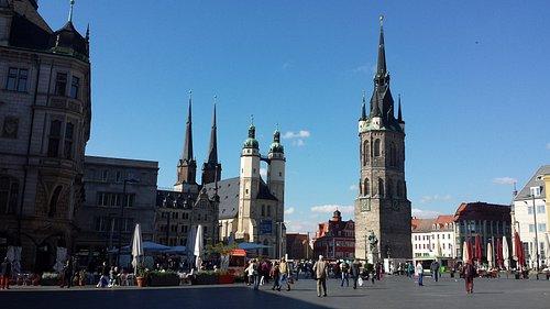 Halle (Saale) - Roter Turm