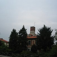 Facciata da via Padova