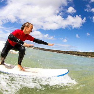 Learn to surf with Gwithian Academy of Surfing