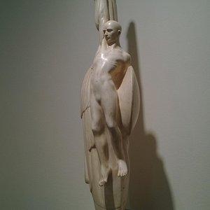 Un'opera di Francesco Ciusa esposta nella permanente