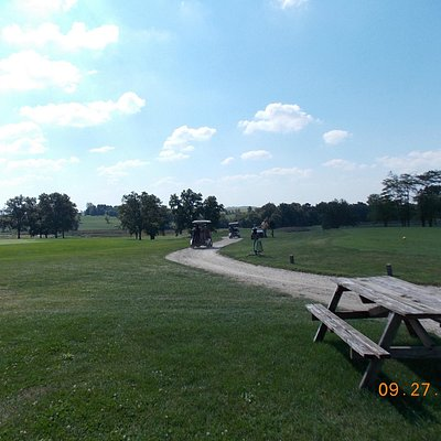 Approach to #1 tee