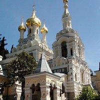 Ялта.Собор Святого благоверного князя Александра Невского