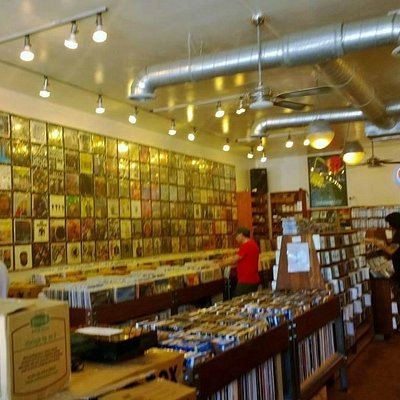 Albums, CD's and Videos Have A Home At ATOMIC