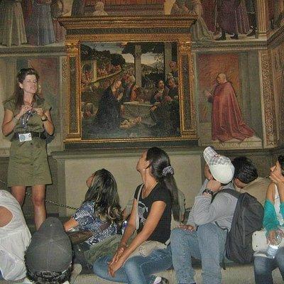 Visitas a museus, igrejas e monumentos