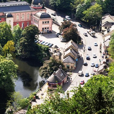 Matlock Bath seen from The Heights of Abraham (c) Brian Chadwick