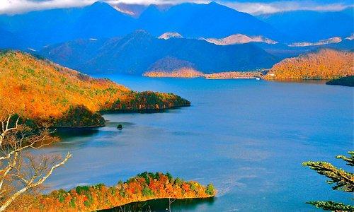 八丁出島の紅葉