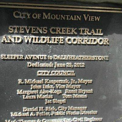 plaque marking opening ceremony heatherstone bridge