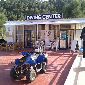 Our diving center and dive school on Ibiza