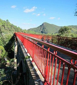 Longest bridge at Olargues
