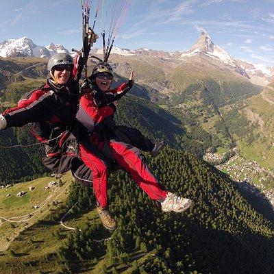 Fly with the Matterhorn