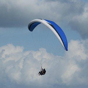 La increíble sensación de tocar las nubes