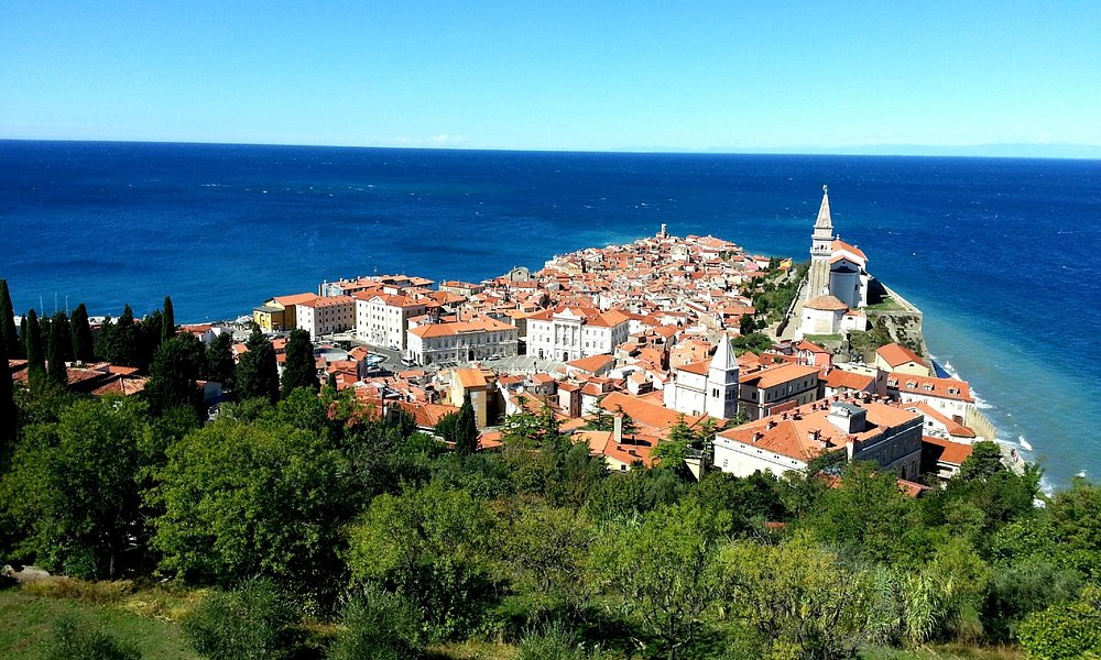 View of Piran from Ramparts