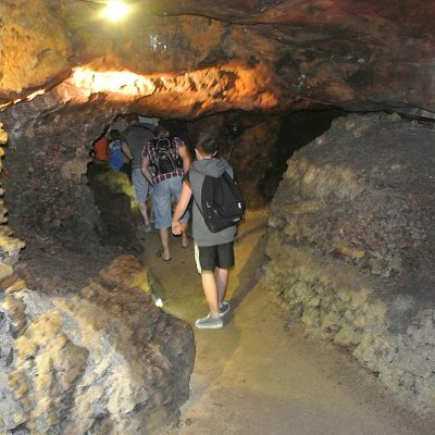 visite dans la mine