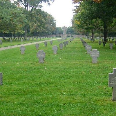 Sandweiler German Military Cemetery, Luxemburgo.