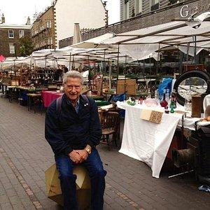 Fun and treasure hunting at Bermondsey Market
