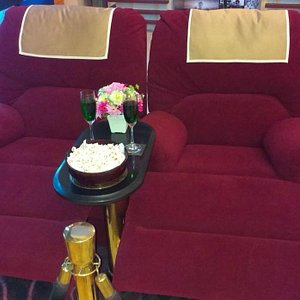 This is an optional seating when going to first class movie
