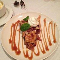 Huckleberry Apple Walnut Pie