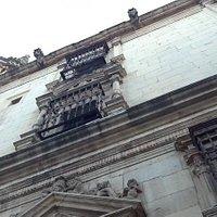Facade of the Colegio de San Idelfonso (Rectory of the University of Alcalá de Henares)