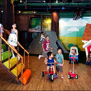 Hideout Playground area