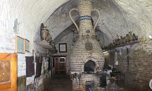 Buchara: Schmiedwerkstatt (Tak-e Sargaran Bazaar)