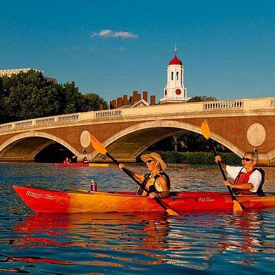 Weeks Footbridge at Harvard University
