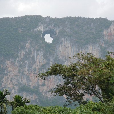 The rock with the hole