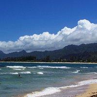 Beautiful Beach, Malaekahana State Park