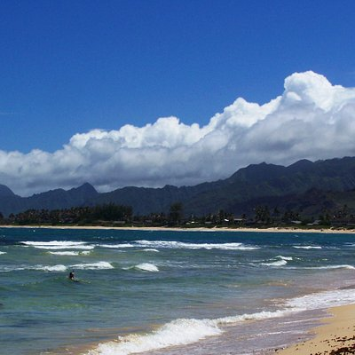 Beautiful Beach, Malaekahana State Park