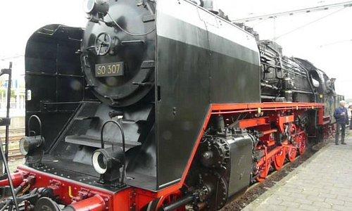 VSM Dampflok der Baureihe 50
