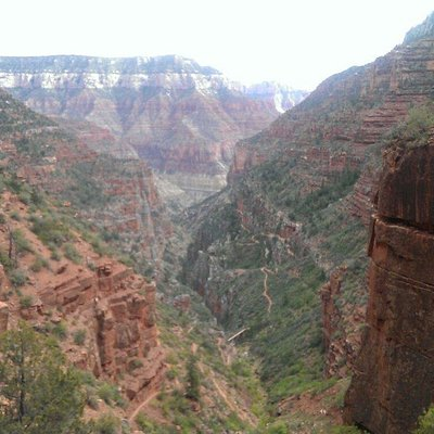 View from Supai Tunnel