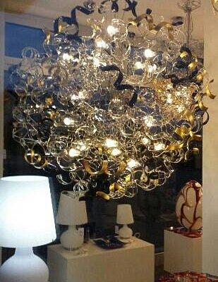 lampadario gigantesco