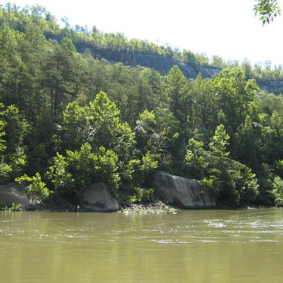 The Big South Fork has wonderful rock formations