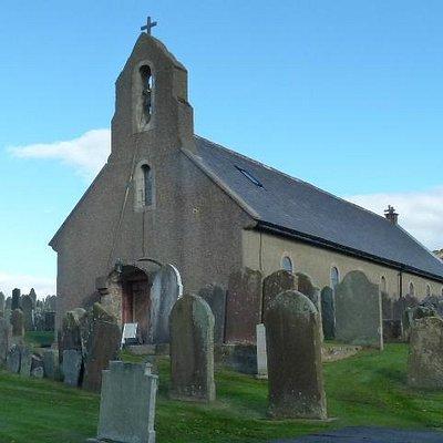 The lovely little church