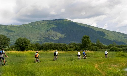Cycling around the Green karst (Inner carniola region)