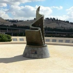9/11 Memorial Monument: The monument and Jerusalem cemetery