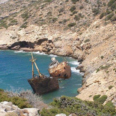 Amorgos' shipwreck