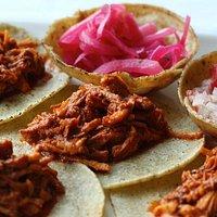 Cochinita Pibil Tacos - Tacos de Cochinita