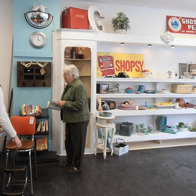 A must when visiting Picton Ontario is to visit Frugal & Company at 230 Main St., to see what's