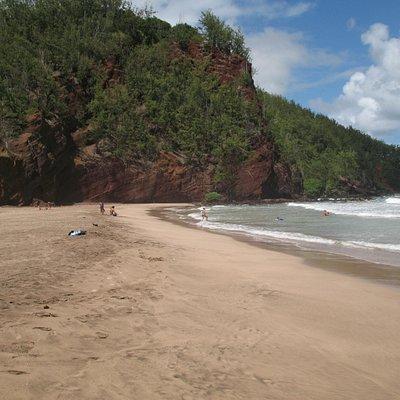 koki sand beach