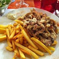 Carpes frites