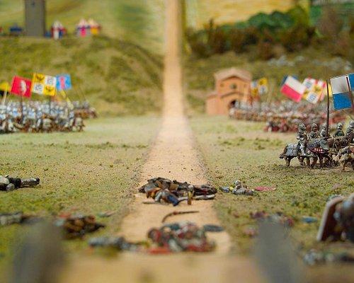 il plastico ricostruttivo della Battaglia di Anghiari